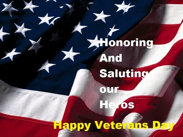 Happy Veterans Day Quotes Thank You